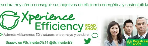 Schneider presenta su road show Xperience Efficiency